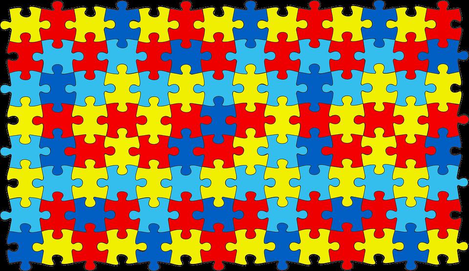 Símbolo de la diversidad autista