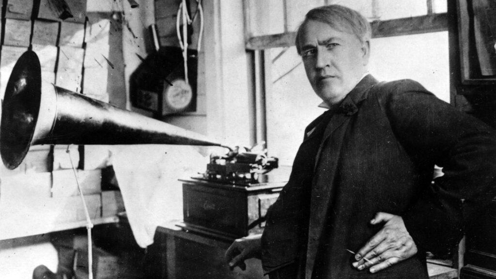 Thomas Edison, el inventor