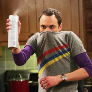 Sheldon y su obsesión por la limpieza