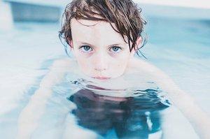 Terapia acuática en niños